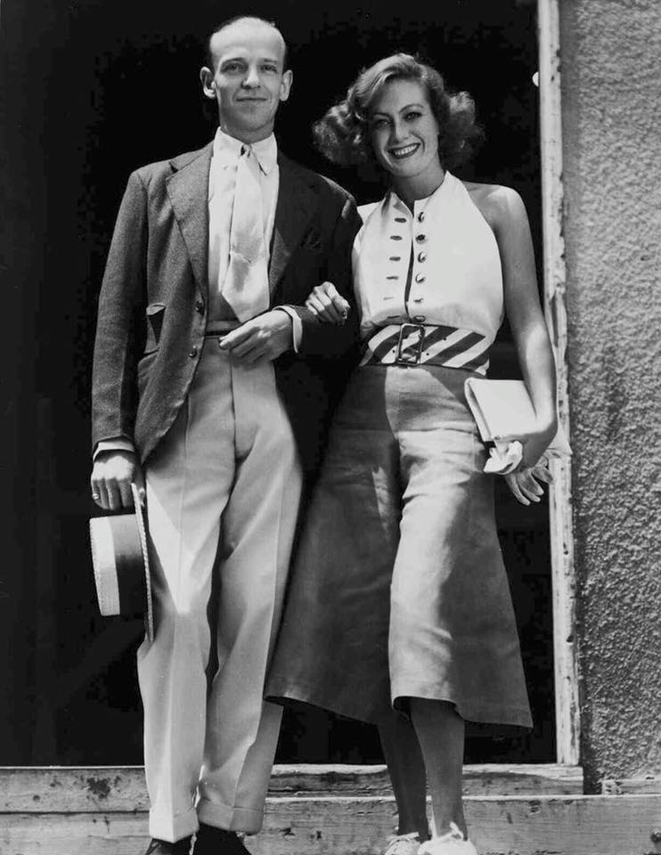 Joan Crawford and  Fred Astaire