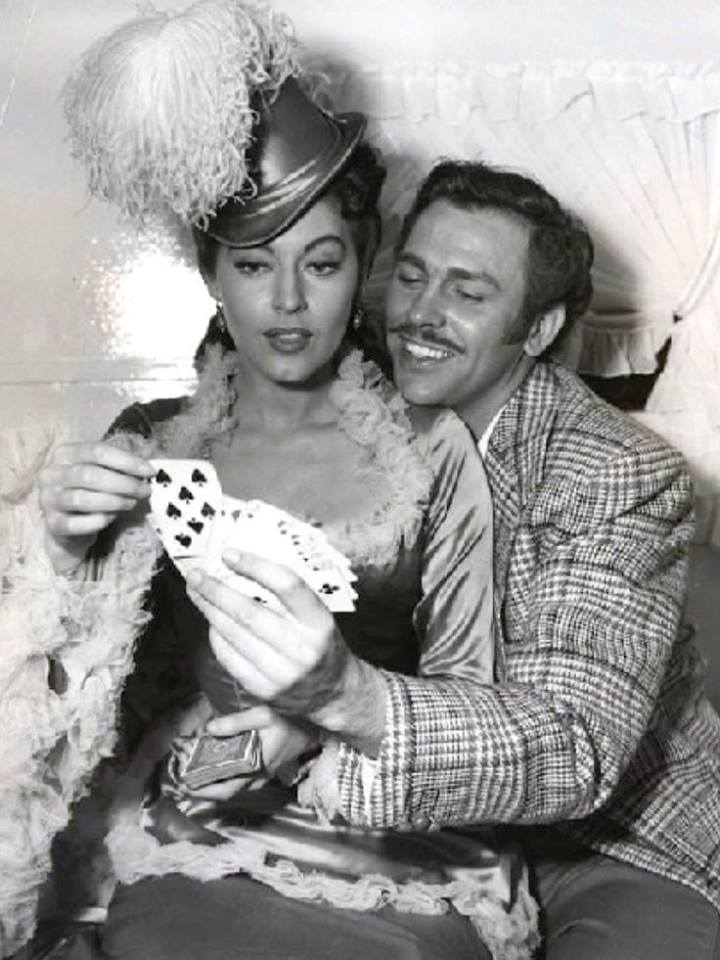 Howard Keel with Ava Gardner