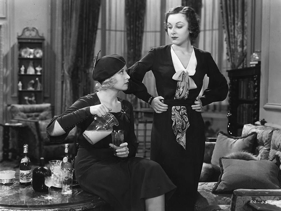Joan Blondell & Ann Dvorak