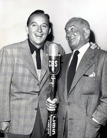 Bing Crosby and Al Jolson