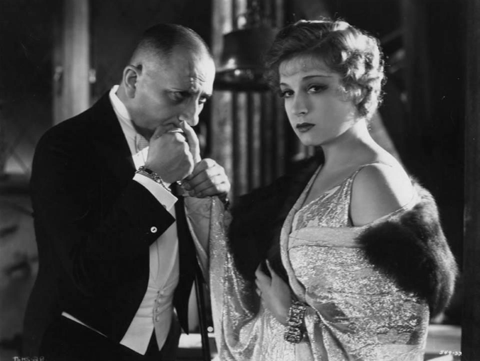 Erich von Stroheim & Lili Damita