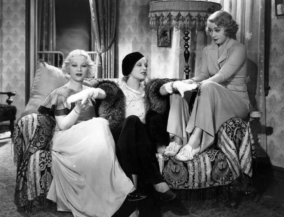 Glenda Farrell, Noel Francis, & Joan Blondell