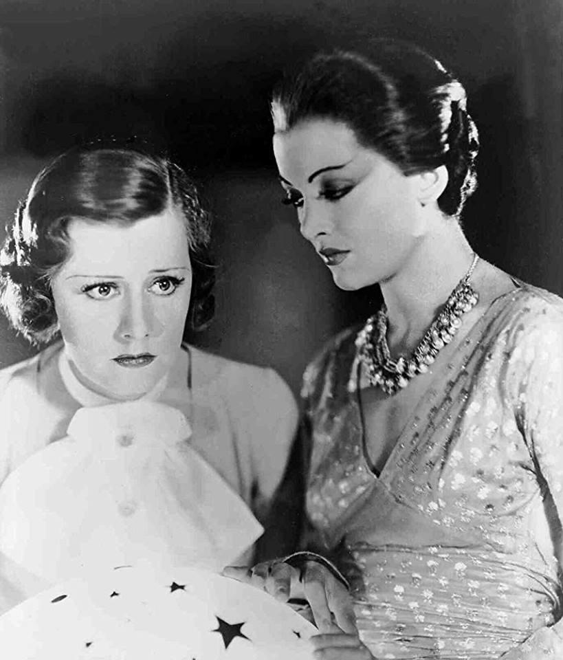 Irene Dunne & Myrna Loy