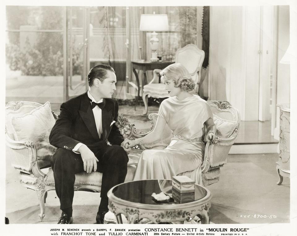 Franchot Tone & Constance Bennett