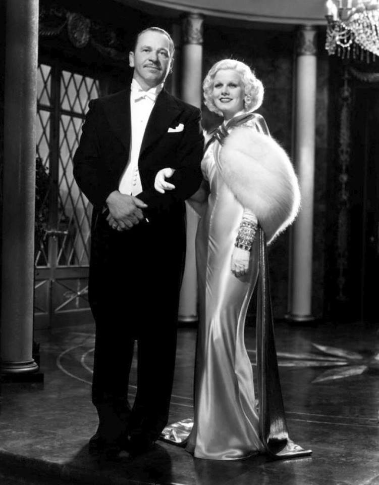 Jean Harlow & Wallace Beery