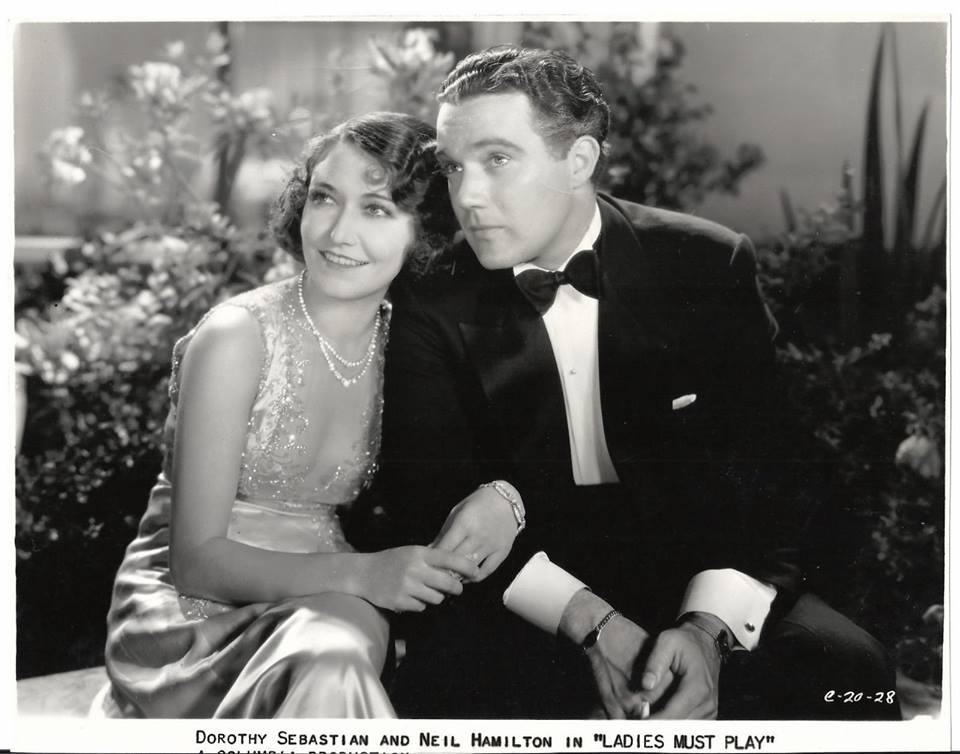Dorothy Sebastian & Neil Hamilton