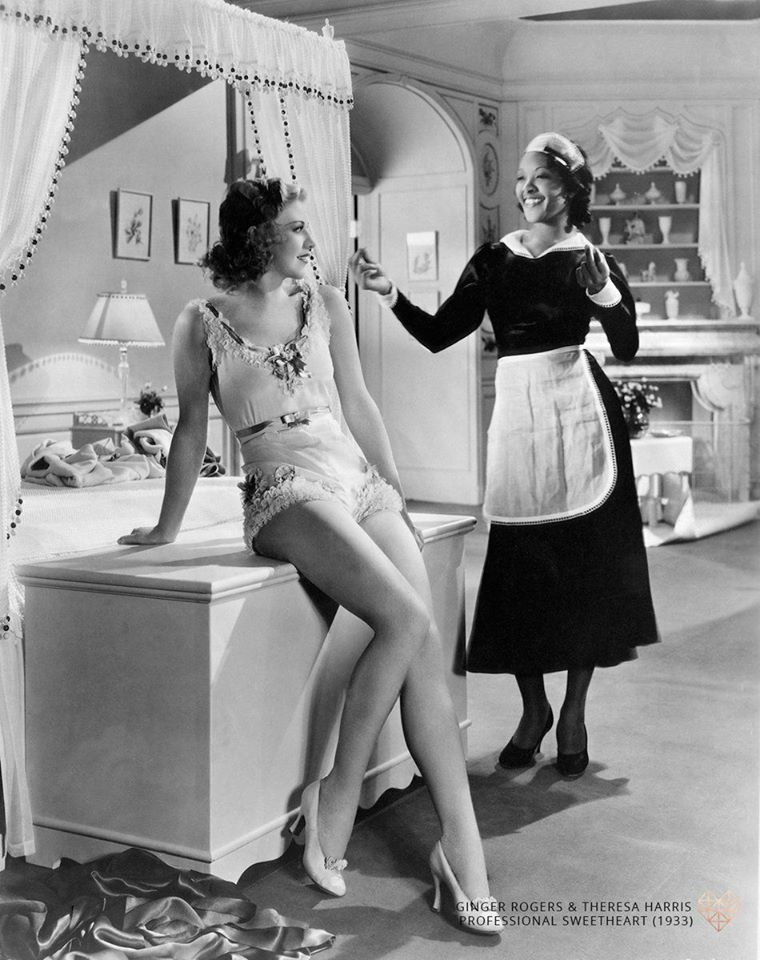 Leggy Ginger Rogers and the very pretty Theresa Harris