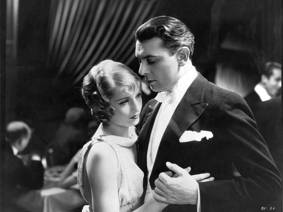 Barbara Stanwyck and George Brent