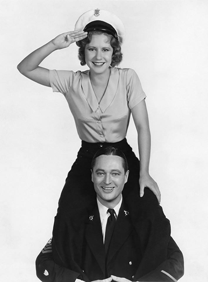 Edmund Lowe & Mae Clarke