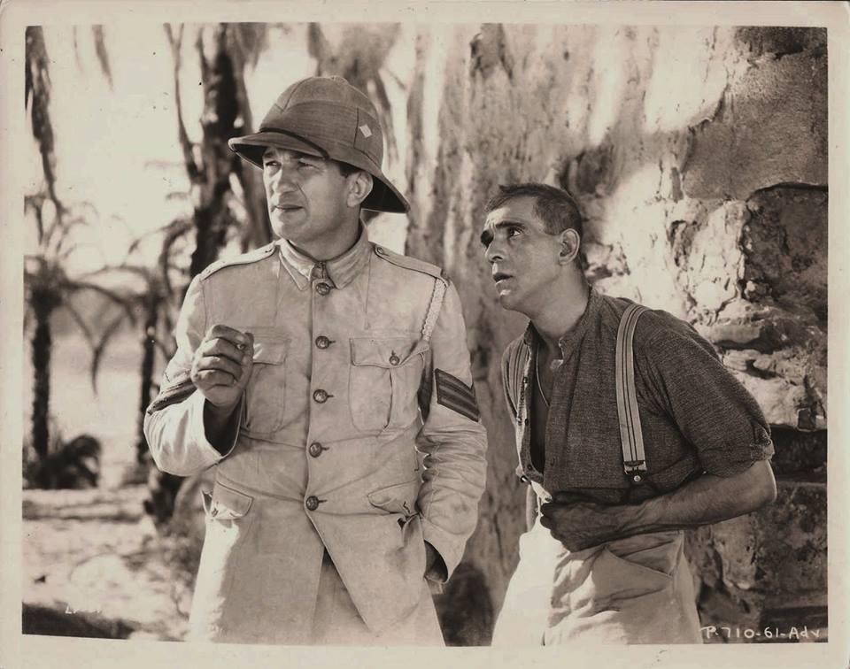 Victor McLaglen & Boris Karloff