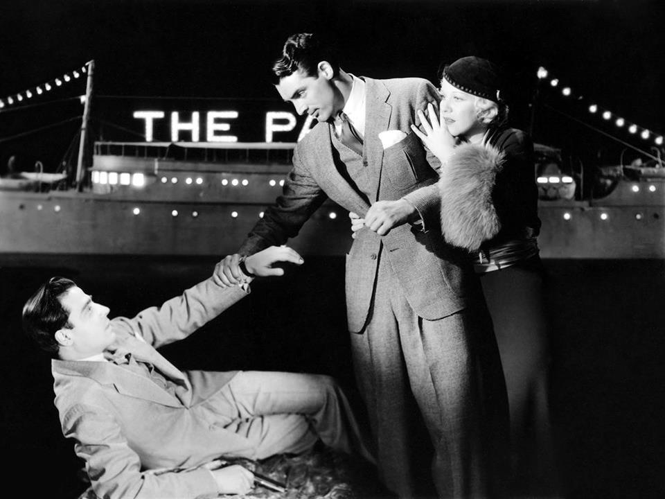 Jack La Rue, Cary Grant & Glenda Farrell