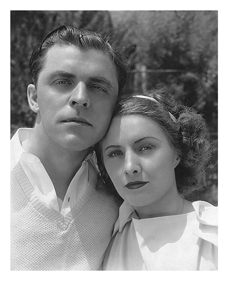 Lyle Talbot and Barbara Stanwyck