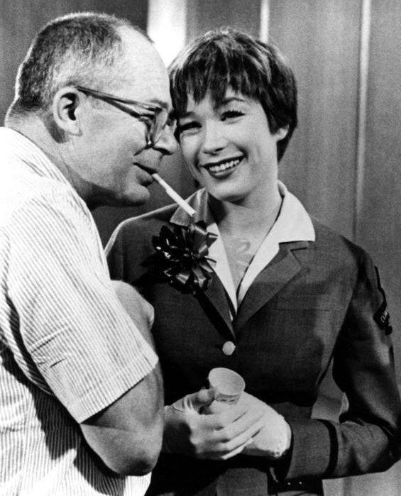 BILLY WILDER & SHIRLEY MacLAINE