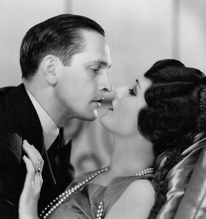 Mary Astor and Fredric March in Ladies Love Brutes (1930)