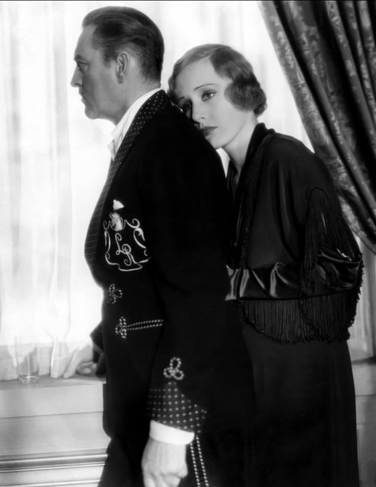 John Barrymore & Madge Evans