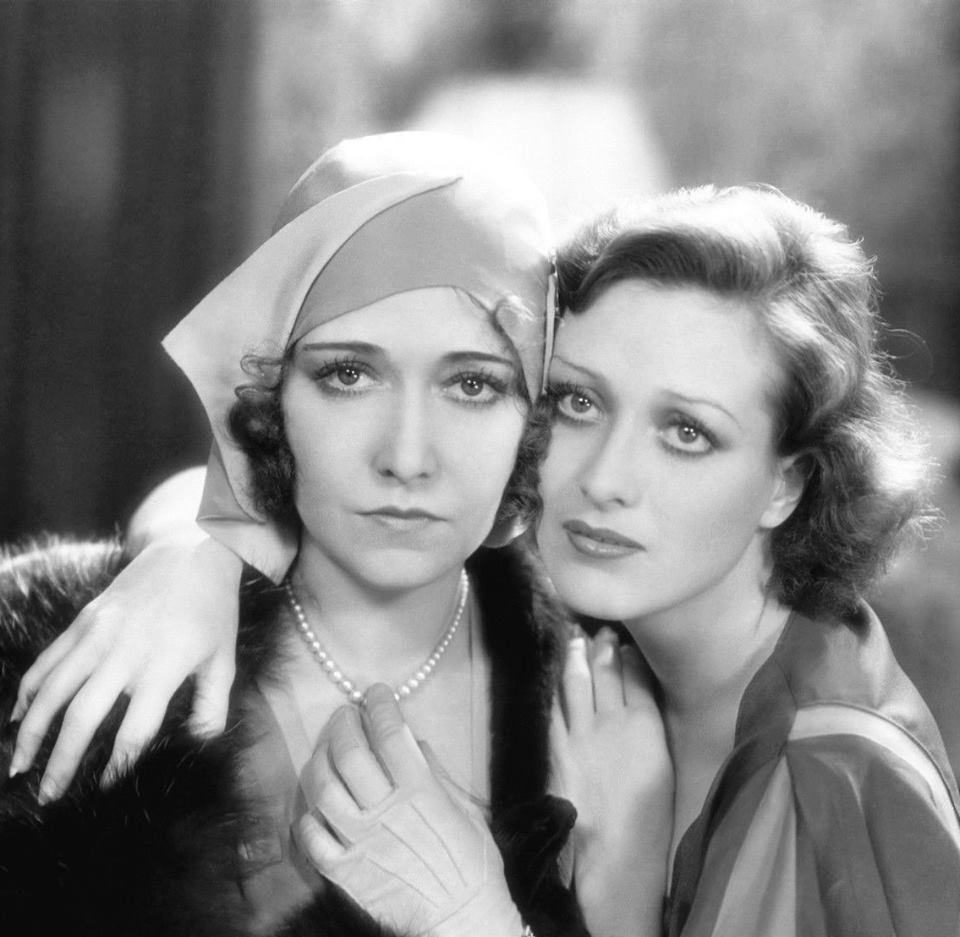 Dorothy Sebastian and Joan Crawford