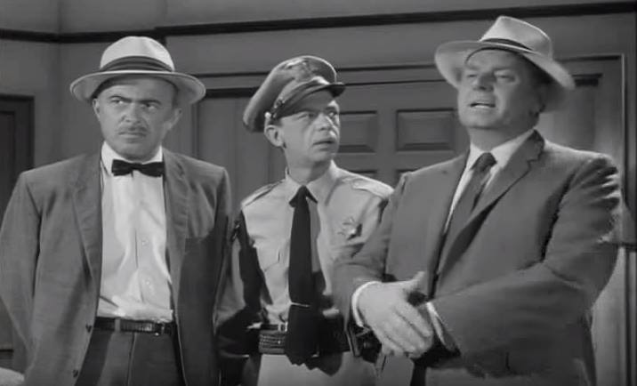 Ralph Bell (left) with Don Knotts and Parley Baer