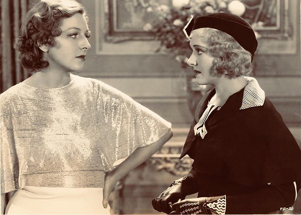 Gertrude Michael and Vivienne Osborne