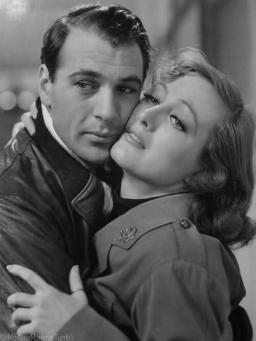 Gary Cooper and Joan Crawford