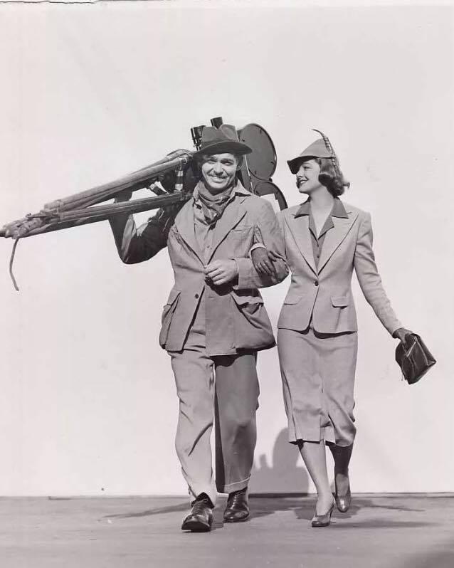 Clark Gable, Myrna Loy