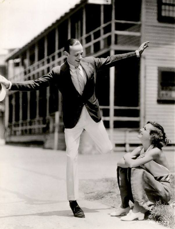 Fred Astaire dancing for Joan Crawford