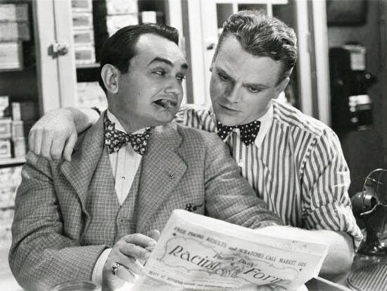 Edward G. Robinson & James Cagney