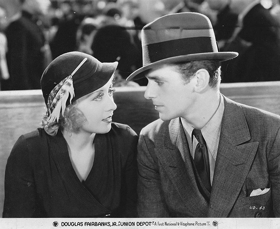 Joan Blondell & Douglas Fairbanks Jr
