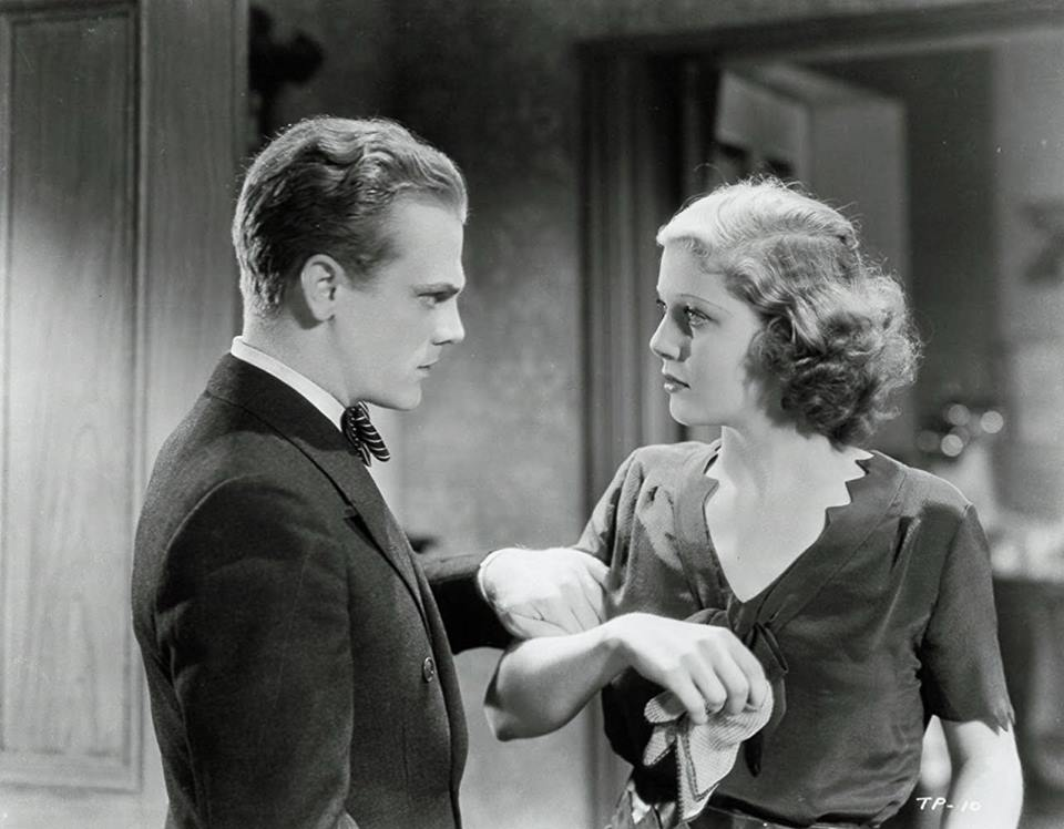 James Cagney & Loretta Young