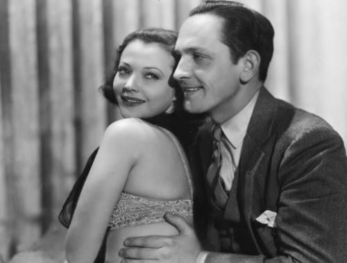 Fredric March & Sylvia Sidney