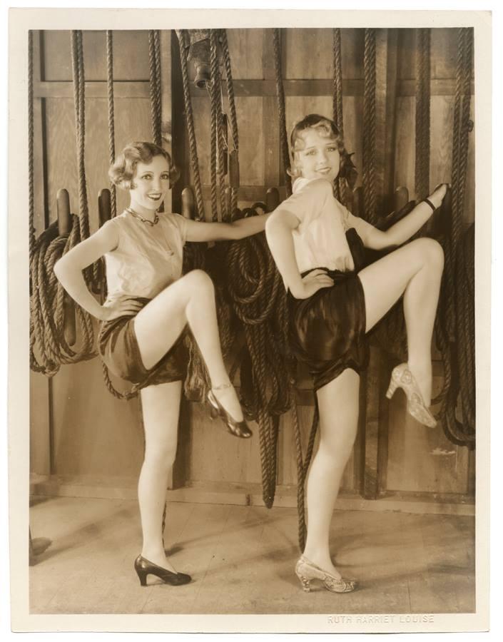 Anita Page & Bessie Love