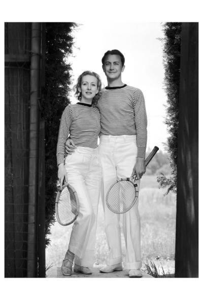 Karen Morely & Robert Young