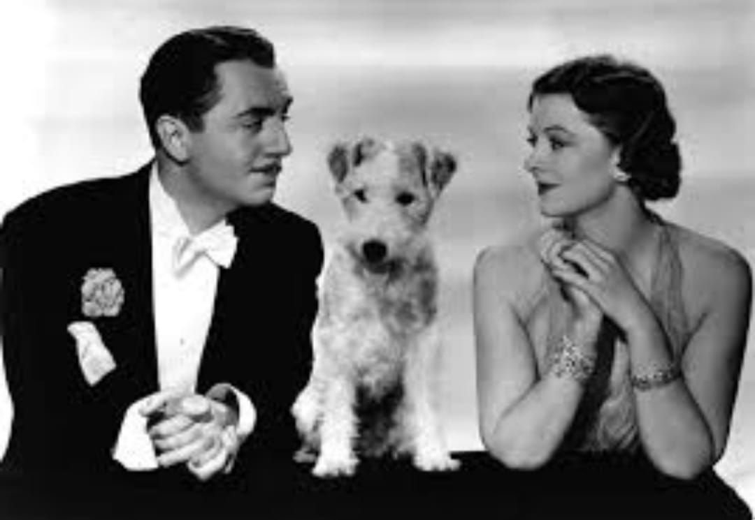 William Powell with Mryna Loy