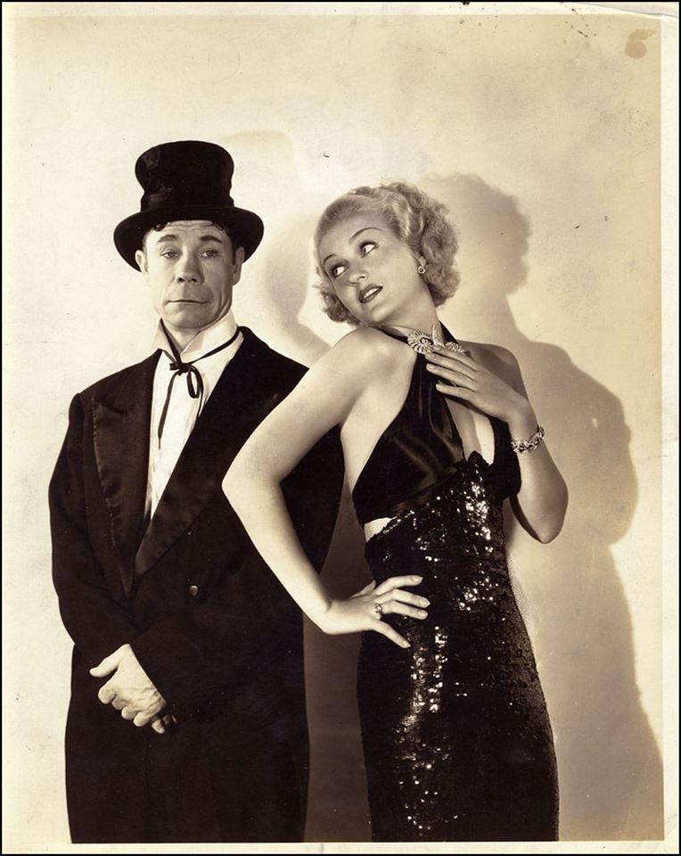 Joe E. Brown with Patricia Ellis
