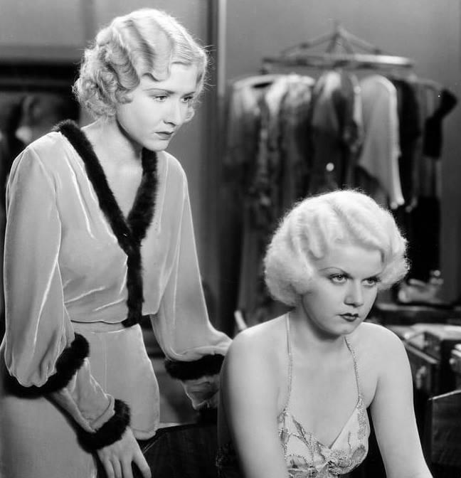 Jean Harlow, Mae Clarke,