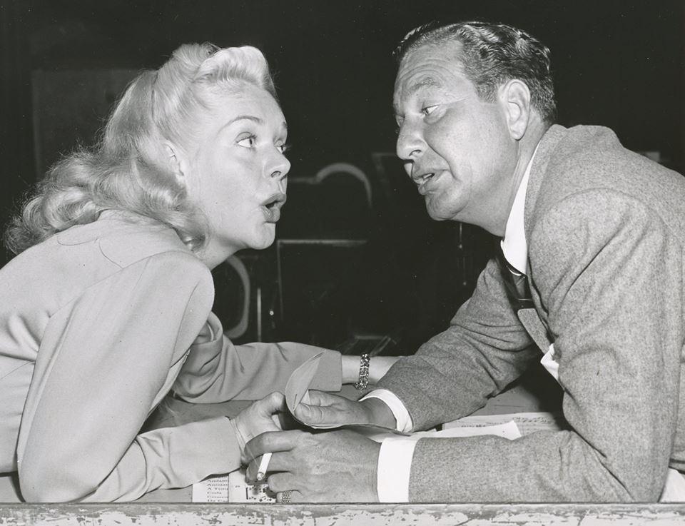 Alice Faye Faye and Phil Harris