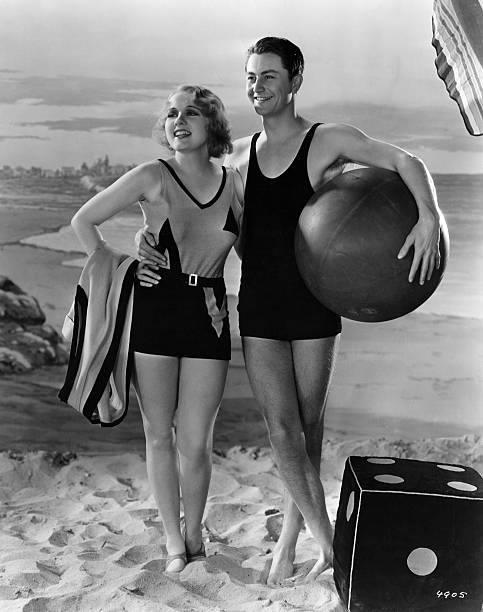 Anita Page and Robert Young