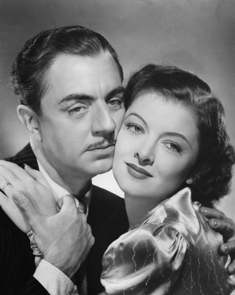 Myrna Loy with William Powell