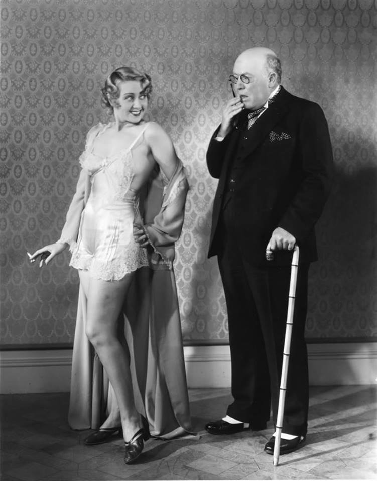 Joan Blondell and Guy Kibbee