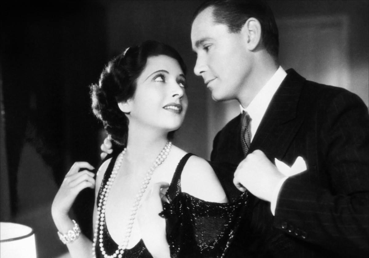 Kay Francis and Herbert Marshall