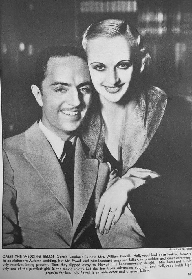 William Powell and Carole Lombard