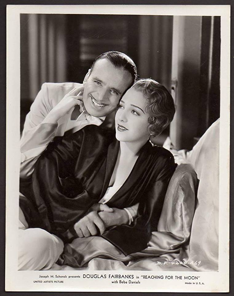 Douglas Fairbanks and Bebe Daniels