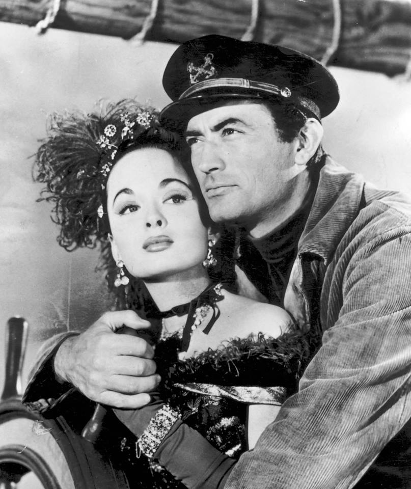 Gregory Peck & Ann Blyth