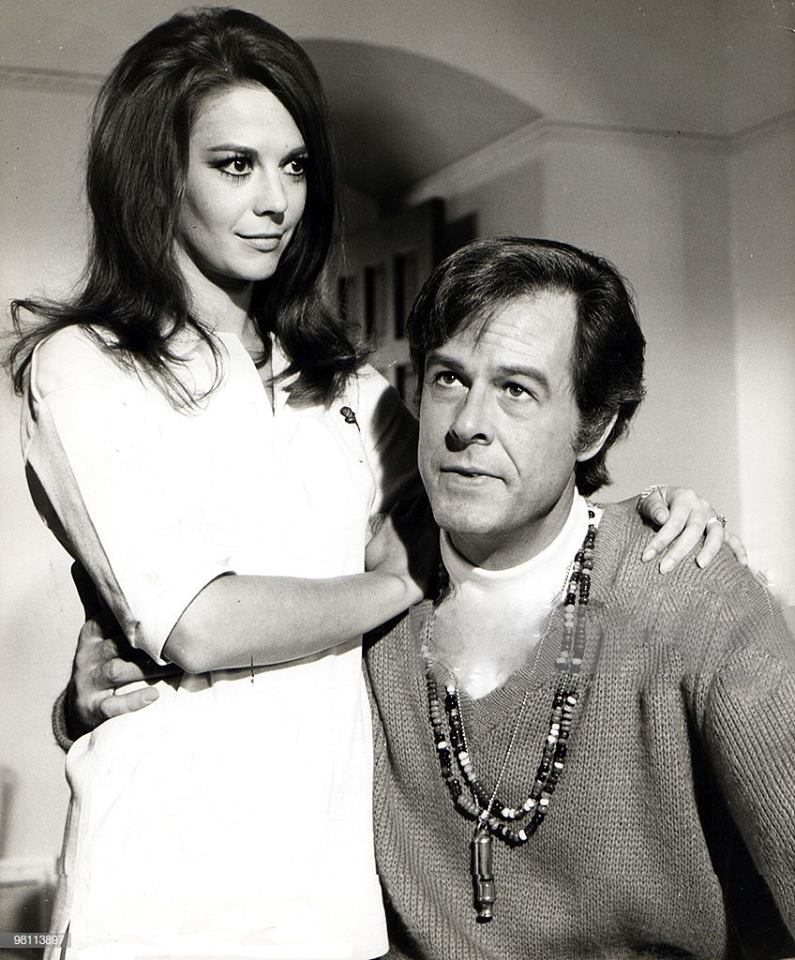 Robert Culp with Natalie Wood