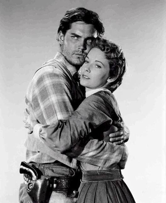 Jeffrey Hunter & Vera Miles