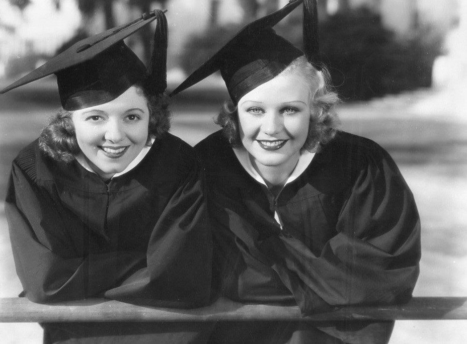 Ginger Rogers and Janet Gaynor