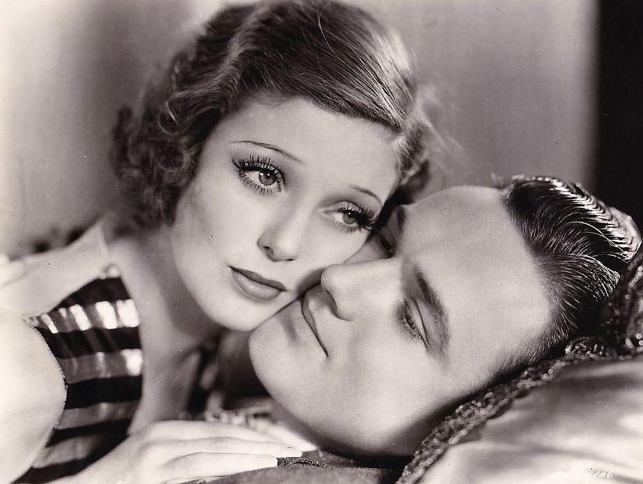 Frank Albertson and Loretta Young