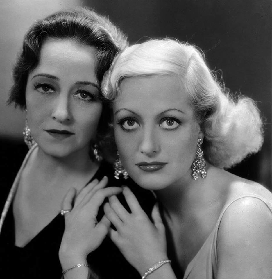 Joan Crawford and Pauline Frederick