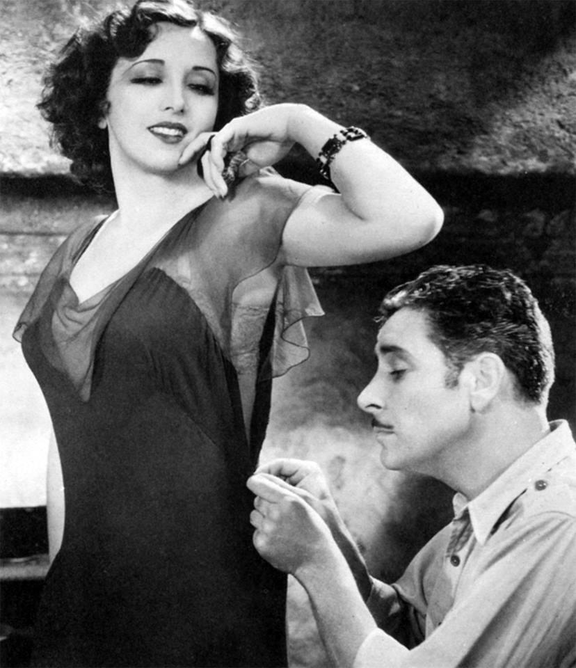 Estelle Taylor and Ronald Colman