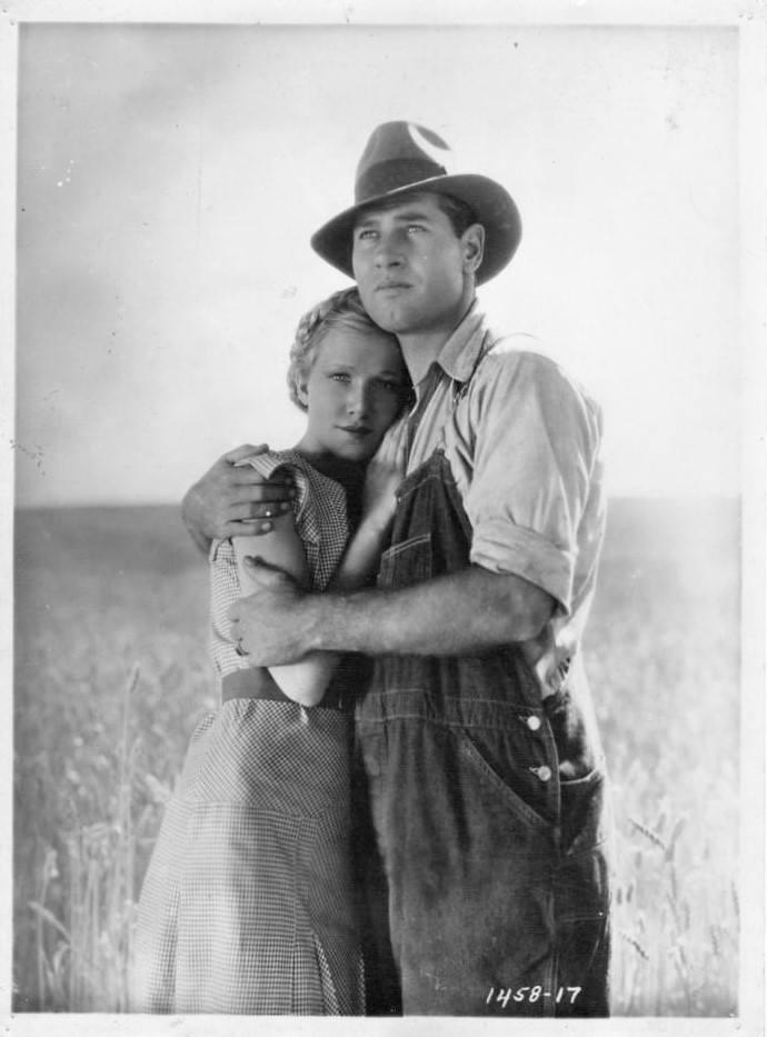 Richard Arlen and Julie Haydon