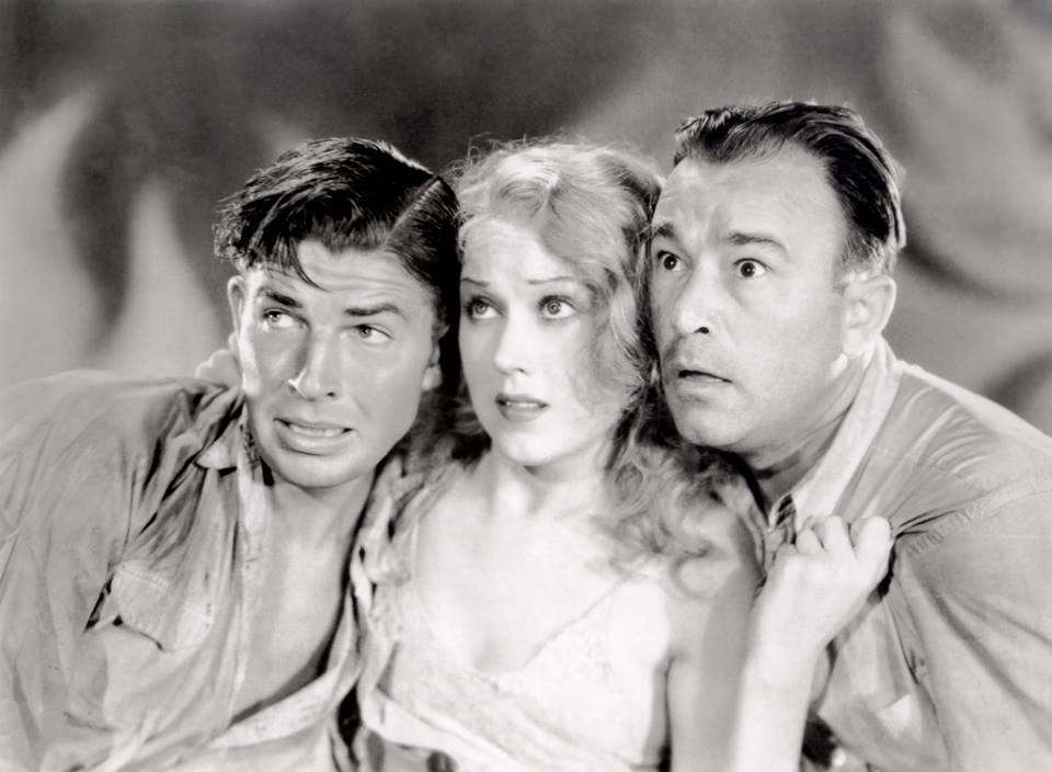 Fay Wray  with Bruce Cabot and Robert Armstrong